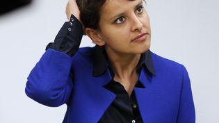 Najat Vallaud-Belkacem, le 23 mai 2013, à Evreux (Eure). (CHARLY TRIBALLEAU / AFP)