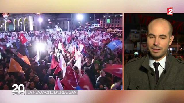Turquie : le parti d'Erdogan triomphe aux élections législatives