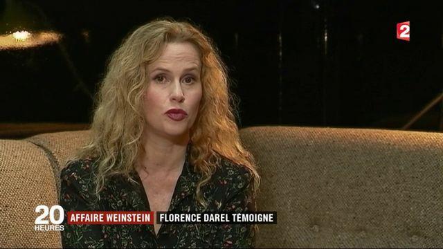 """Affaire Weinstein : """"Je me souviens d'être dans une sorte de panique intérieure"""", témoigne l'actrice Florence Darel"""