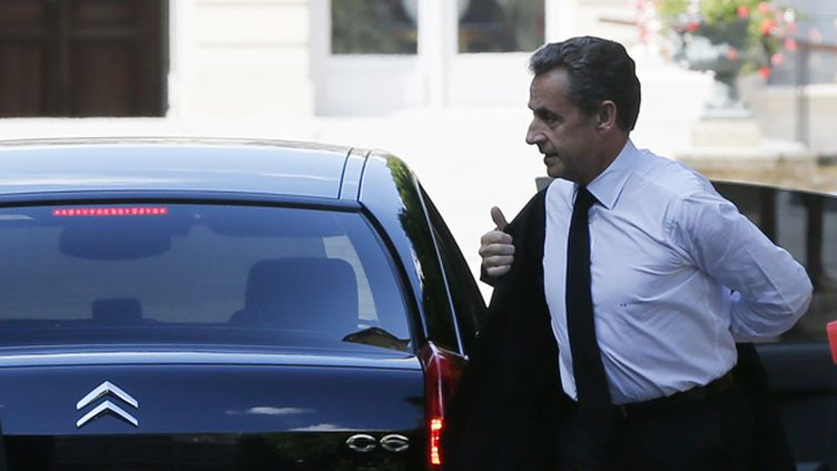 (Nicolas Sarkozy, la semaine dernière © REUTERS/Gonzalo Fuentes)