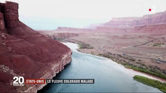 États-Unis : le fleuve Colorado malade
