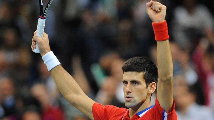 Novak Djokovic (ANDREJ ISAKOVIC / AFP)