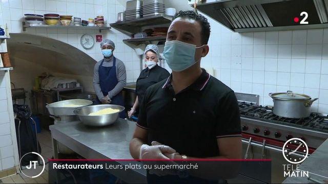 Covid-19: quand les restaurants mettent leurs plats au supermarché pour faire face à la crise
