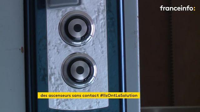 Une entreprise niçoise développe des ascenseurs sans contact