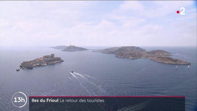Déconfinement : le retour des touristes sur l'archipel du Frioul
