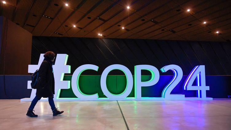 Le centre des congrès de la COP24, à Katowice, en Pologne. (FRANCK DUBRAY / MAXPPP)