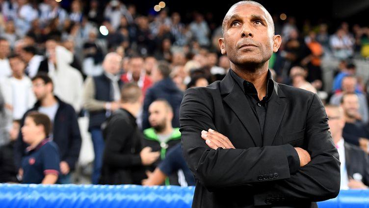 L'ancien entraîneur de l'OM, Franck Passi (ANNE-CHRISTINE POUJOULAT / AFP)