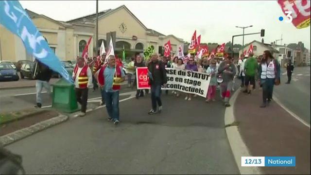 Grèves des fonctionnaires : des manifestations dans toute la France