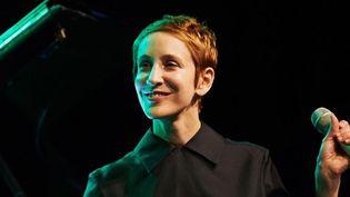 Stacey Kent en juillet 2013 au Ladies' Jazz Festival de Gdynia en Pologne  (ADAM WARZAWA/EPA/MAXPPP )