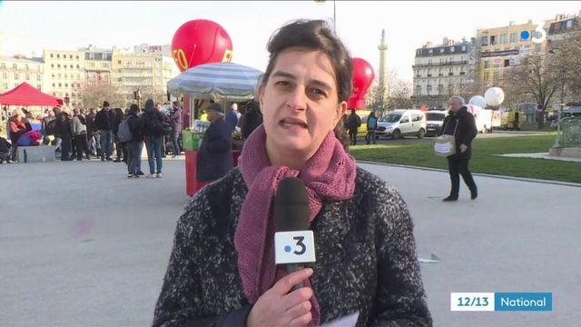 Retraites : le cortège de la manifestation parisienne va s'élancer