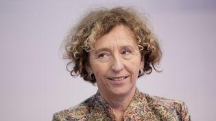 Muriel Pénicaud lors du premier sommet de l'économie au Grand Palais, à Paris,le 4 décembre 2014. (VINCENT ISORE / MAXPPP)