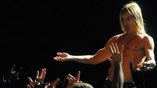 Iggy Pop lors de la tournée Raw Power des Stooges. Los Angeles, décembre 2011.  (Katy Winn/AP/SIPA)