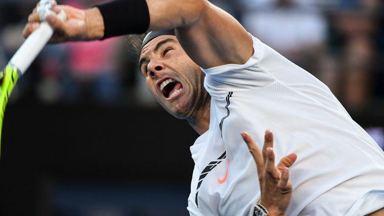 Rafael Nadal (SAEED KHAN / AFP)