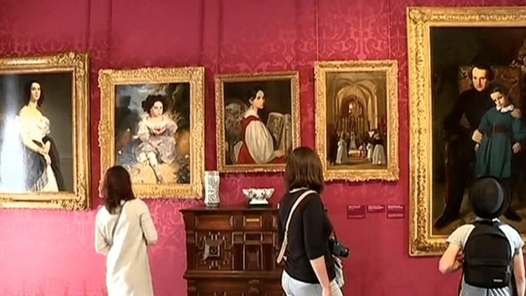 """L'exposition """"Les Hugo, une famille d'artistes"""" à voir jusqu'au 18 septembre  (Capture d'image France3/Culturebox)"""