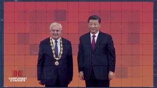 """Complément d'enquête. Raffarin est-il un """"Français panda"""" ? L'ancien Premier ministre fait le jeu de la Chine ? (COMPLÉMENT D'ENQUÊTE/FRANCE 2)"""