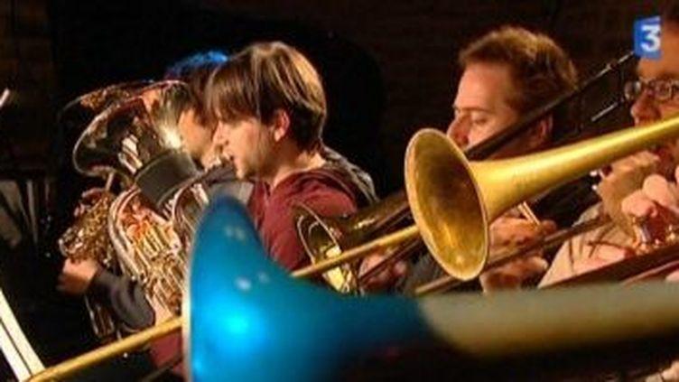 Premier concert de l'orchestre de jeunes jazzmen de Bourgogne  (Culturebox)