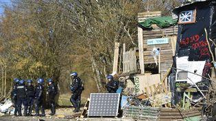L'évacuation du site de Bure dans la Meuse a commencé au petit matin le 22 février. (JEAN-CHRISTOPHE VERHAEGEN / AFP)