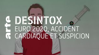 Non, l'accident cardiaque du footballeur Christian Eriksen n'est pas dû au vaccin contre la Covid (ARTE/2P2L)