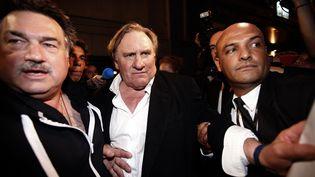"""Gérard Depardieu n'est pas resté longtemps à la soirée de lancement du film """"Welcome to New York"""", samedi 17 mai. ( ERIC GAILLARD / REUTERS)"""