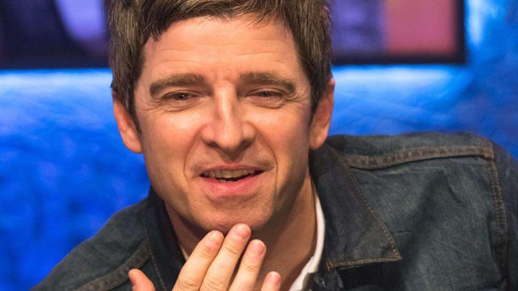 Noel Gallagher en novembre 2014 dans un show TV anglais.  (Brian J Ritchie/Hotsauc/REX/SIPA)