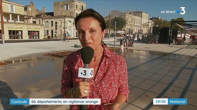 Canicule : 66 départements en vigilance orange