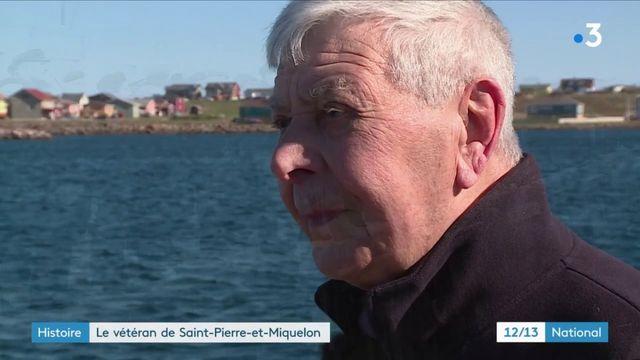 Saint-Pierre-et-Miquelon : retour sur les souvenirs d'un vétéran de la Seconde Guerre mondiale