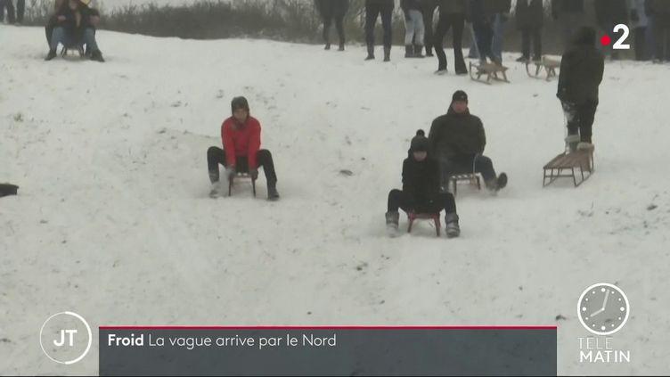 La neige dans le Nord (France 2)