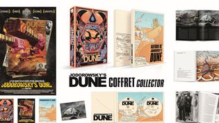 Jodorowsk'y Dune - coffret DVD/Blu ray  (Blaq out)