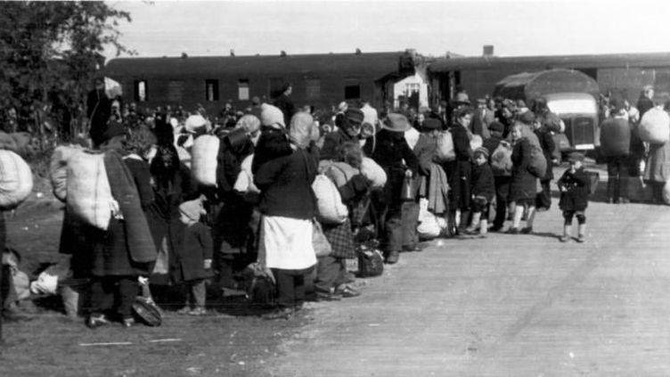 Expulsés allemands.