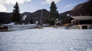 La station de ski de Serre-Chevalier (Hautes-Alpes), le 2décembre 2020. (THIBAUT DURAND / HANS LUCAS / AFP)