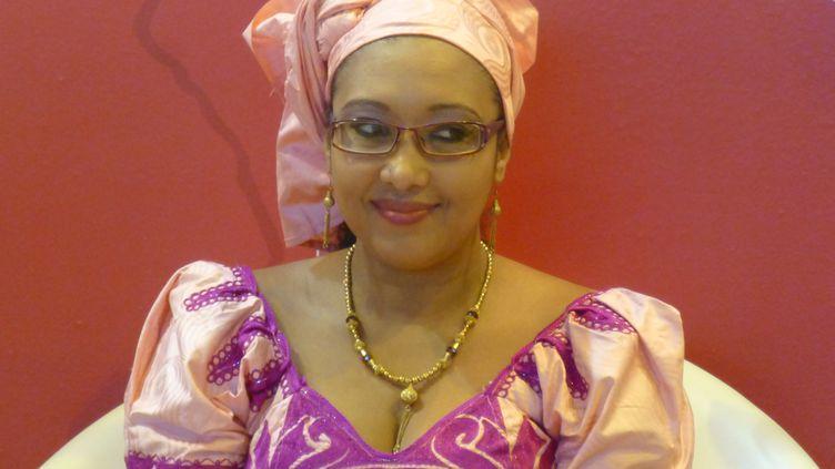 L'écrivaine Djaïli Amadou Amal (@ Olivier Thibaud)
