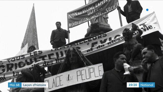 Mai 68 : la leçon d'histoire