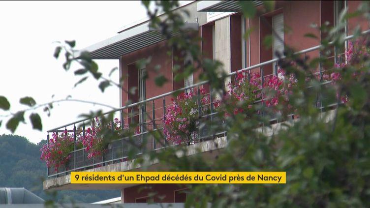 L'Ehpad de Pulnoy, en Meurthe-et-Moselle (FRANCEINFO)