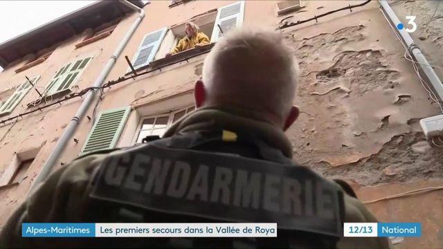 Tempête Alex : face à l'ampleur des dégâts, la solidarité s'organise au village de Breil-sur-Roya