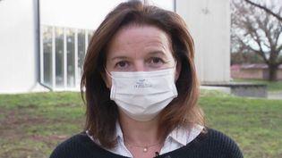 L'entreprise Paul Boyé Technologies de Labarthe-sur-Lèze (Haute-Garonne) a produit un masque qui, une fois porté, tuerait le coronavirus. (CAPTURE ECRAN FRANCE 2)