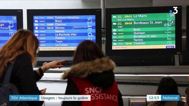 Grève SNCF : les usagers toujours dans la galère