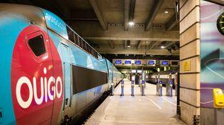 Un train Ouigo, le 5 décembre 2019 à Paris. (UGO PADOVANI / HANS LUCAS / AFP)