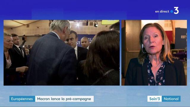 Emmanuel Macron lance sa pré-campagne pour les élections européennes