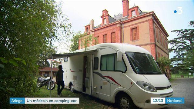 Ariège : un médecin itinérant fait le tour de France en camping-car