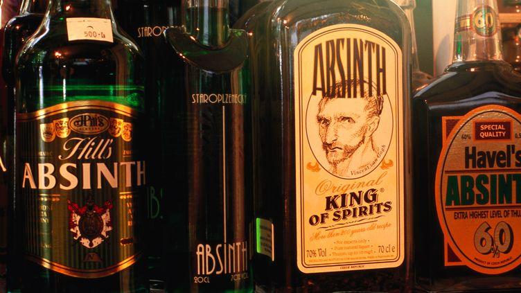 Des bouteilles d'absinthe. (LONELY PLANET / GETTY)