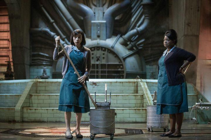 """Sally Hawkins et Octavia Spencer dans """"La Forme de l'eau"""" de Guillermo del Toro  (Twentieth Century Fox France)"""