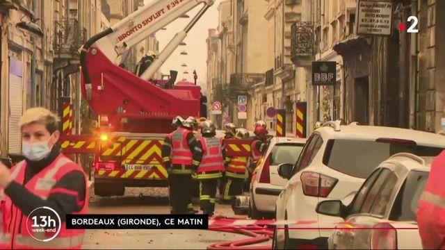 Bordeaux : un immeuble touché par une explosion