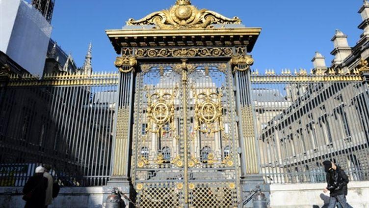L'entrée du Palais de justice de Paris (AFP - MIGUEL MEDINA)