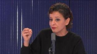 Najat Vallaud-Belkacem, invitée de franceinfo, samedi 16 janvier 2020. (FRANCEINFO / RADIOFRANCE)