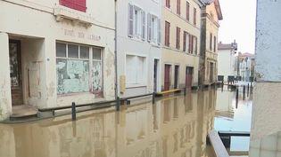 Tempête Bella : des crues à répétition dans les Landes (France 2)