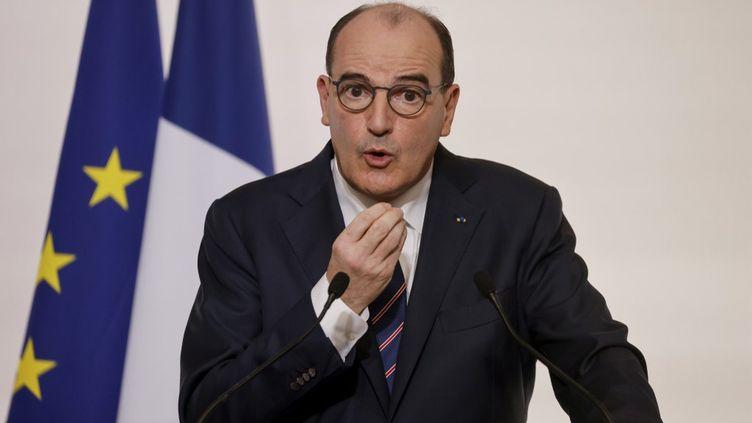 Le Premier ministre, Jean Castex, le 7 janvier 2020. (LUDOVIC MARIN / AFP)