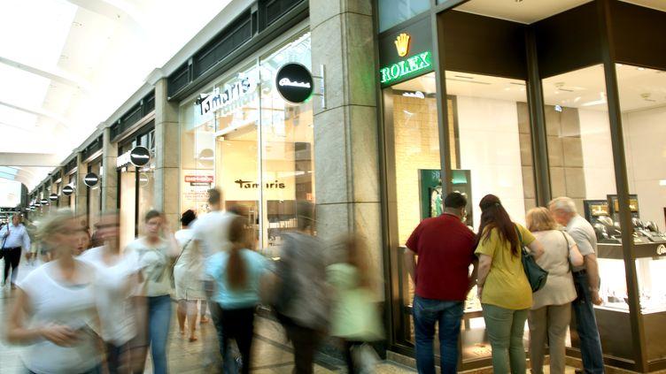Le centre commercial d'Oberhausen, en Allemagne, le 9 septembre 2016. (ROLAND WEIHRAUCH / DPA / AFP)