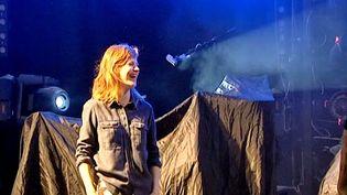 Christine And The Queens en répétition sur la scène de Solidays  (France3/Culturebox)