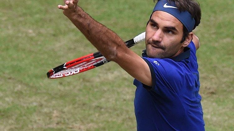 L'ancien N.1 mondial Roger Federer (CARMEN JASPERSEN / AFP)