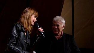Guy Bedos et sa fille Victoria à l'Université du goût d'Argentan  (France 3)